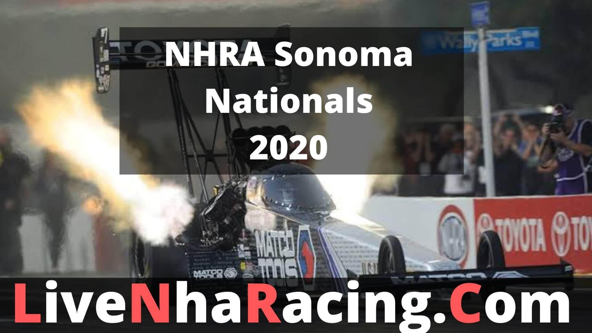 NHRA Sonoma Nationals Live Stream