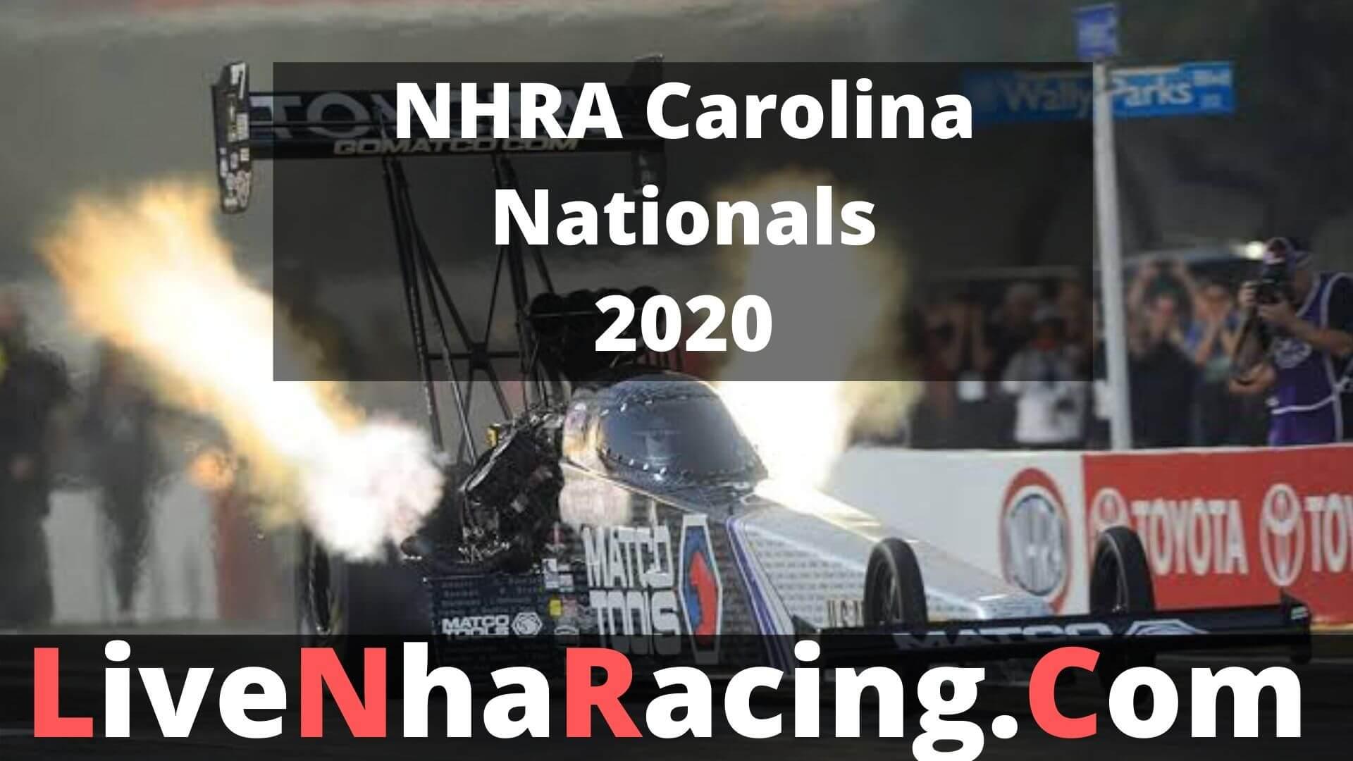 NHRA Carolina Nationals - Finals Live Stream