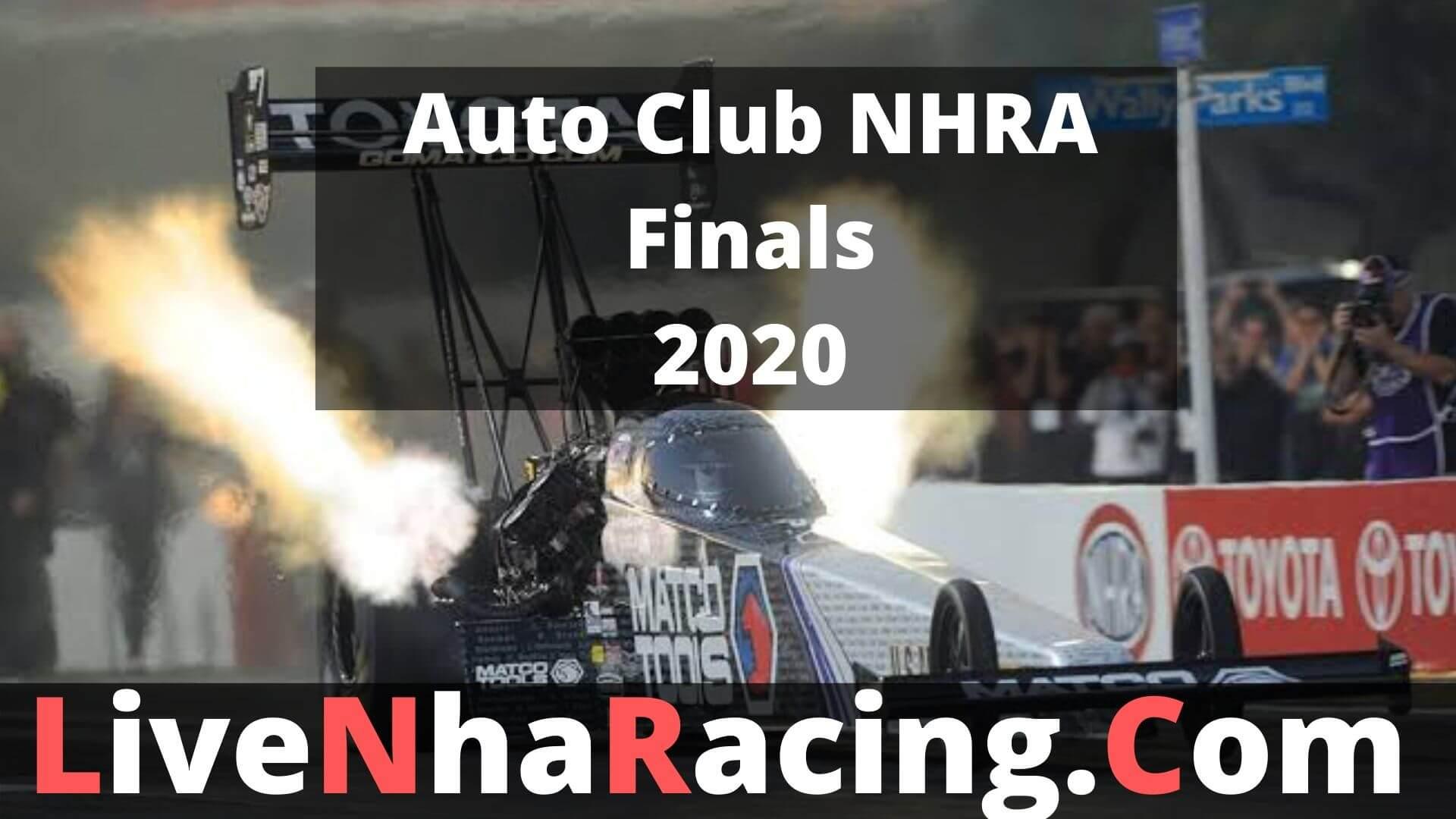 Auto Club Nhra Finals- Sunday Nitro Live Stream