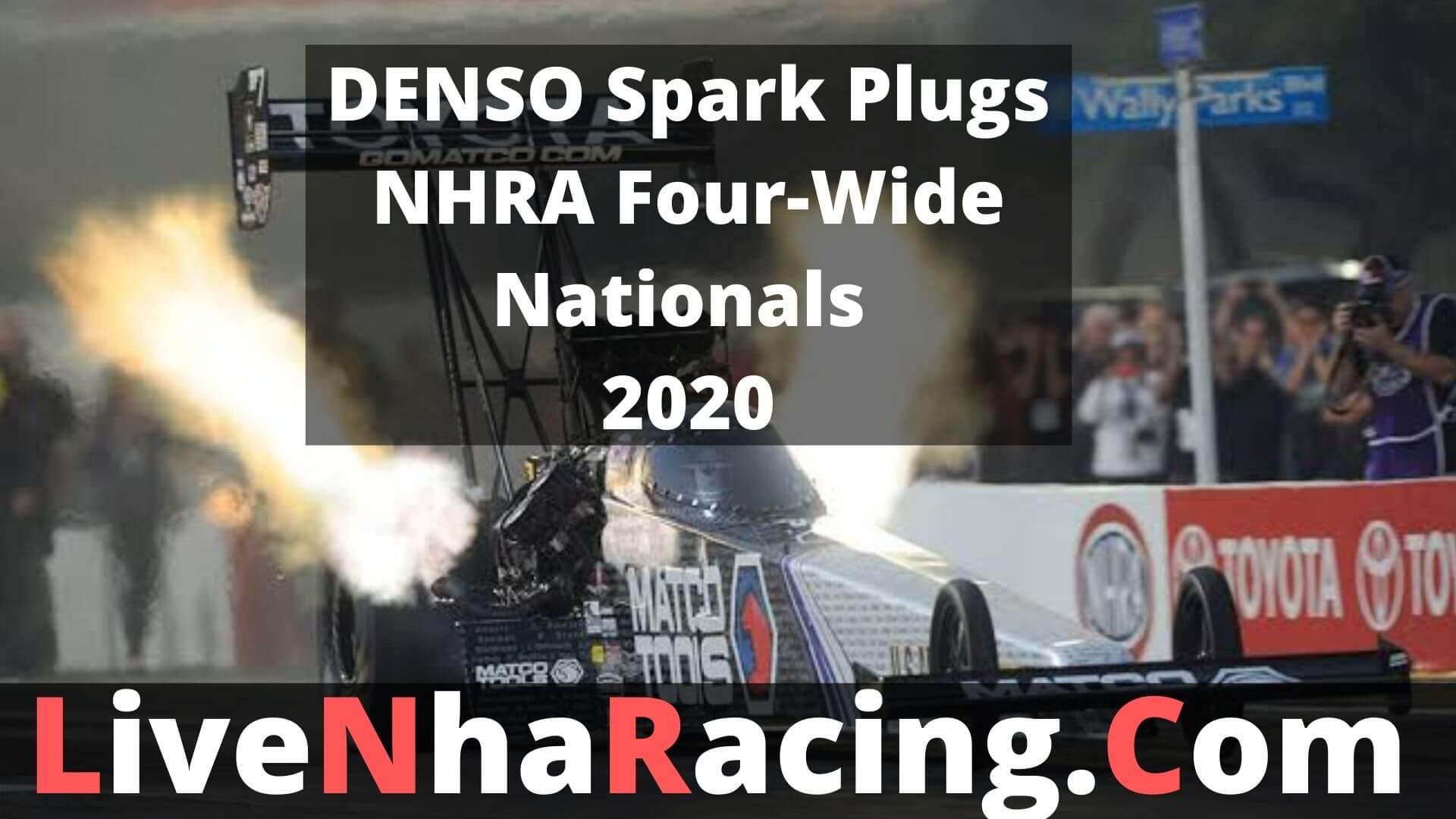 DENSO Spark Plugs NHRA Four-Wide Nationals - Finals Live Stream