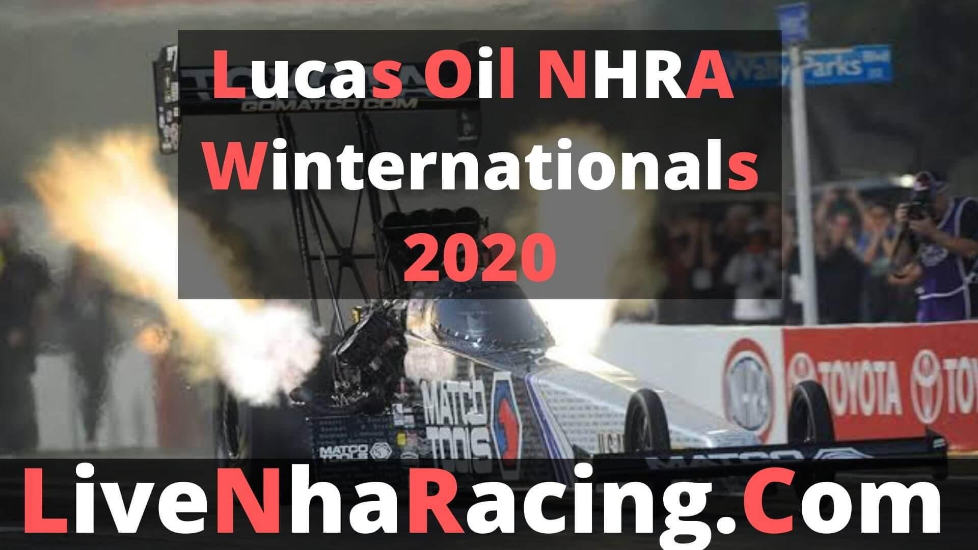 Lucas Oil NHRA Winternationals - Finals Live stream