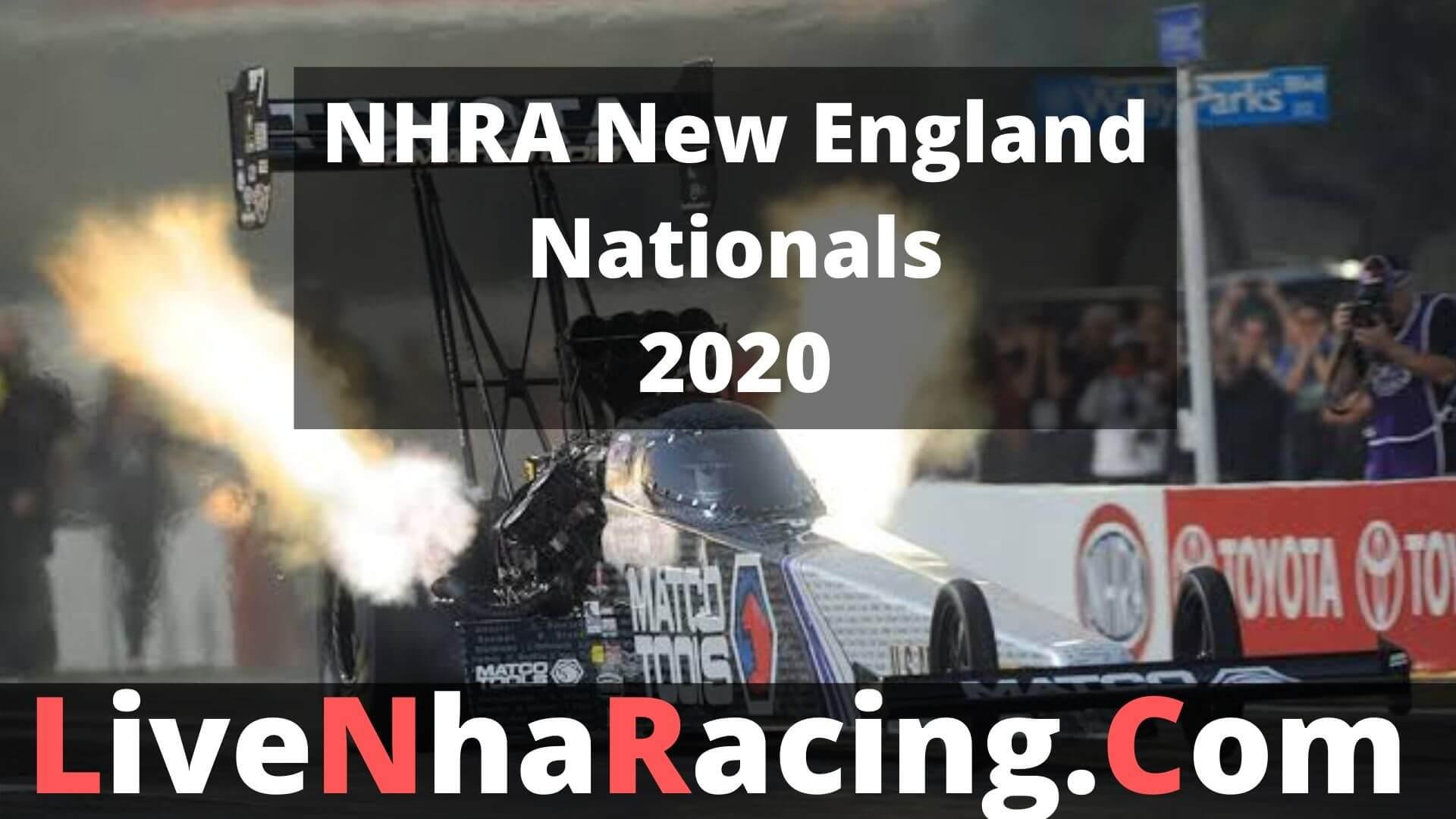 NHRA New England Nationals - Finals Live Stream