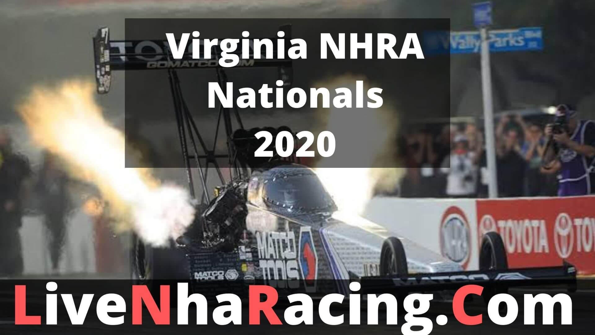 Virginia NHRA Nationals - Finals Live Stream