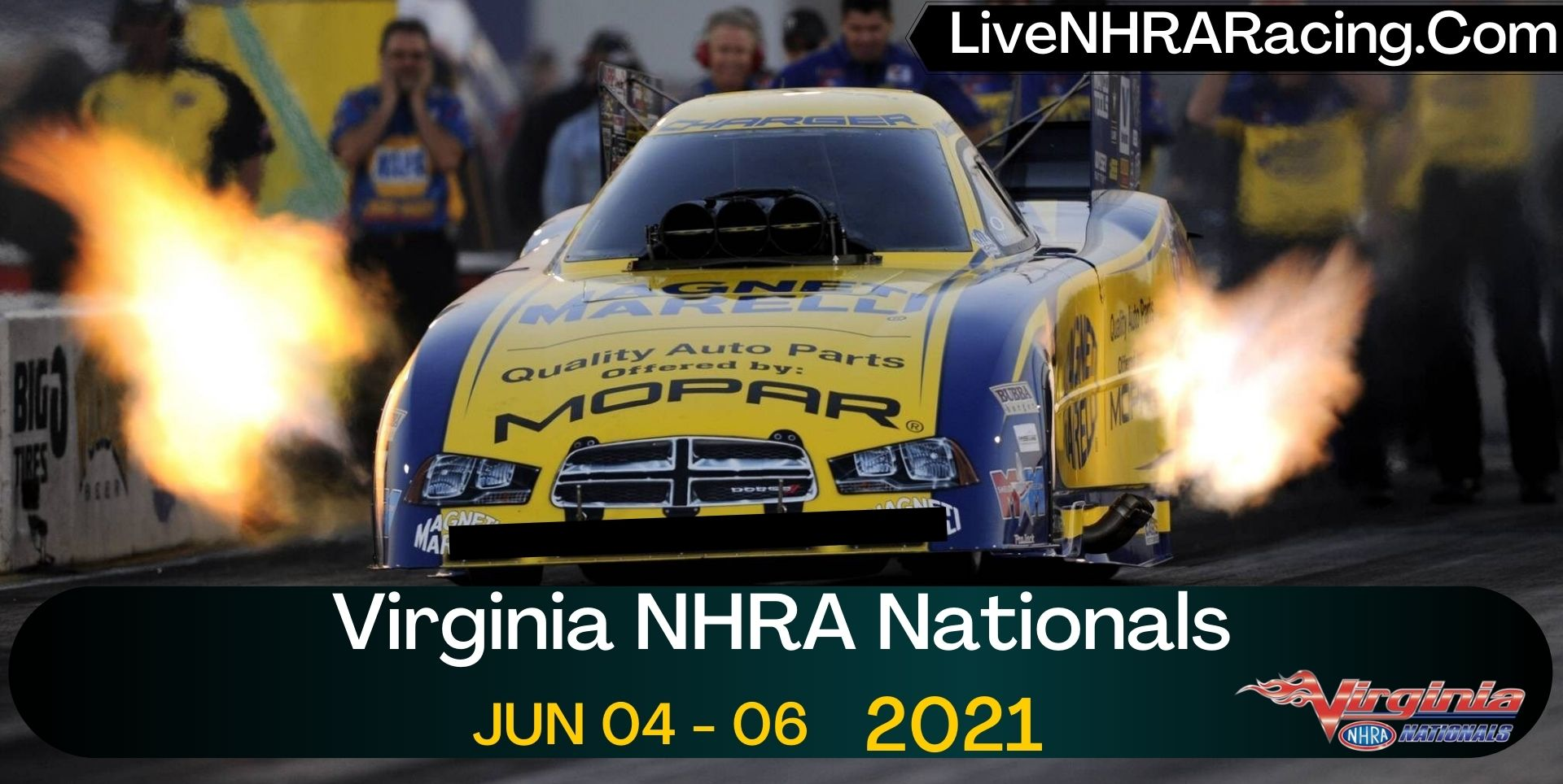 Virginia NHRA Nationals Live Stream 2021