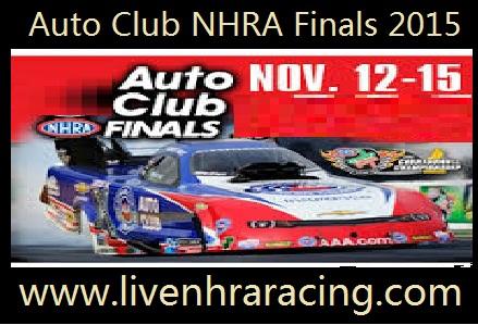 Auto Club Nhra Finals 2015