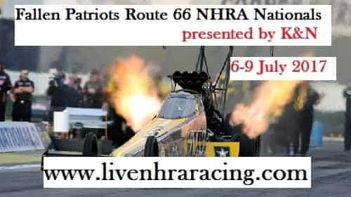 Fallen Patriots Route 66 Nhra Nationals live