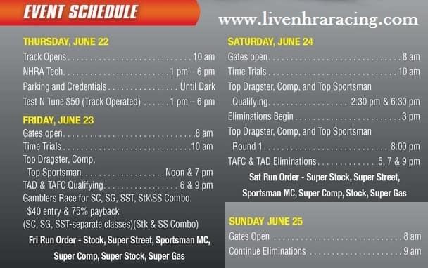 Osage Casino Nhra Lucas Oil Drag Racing Series live