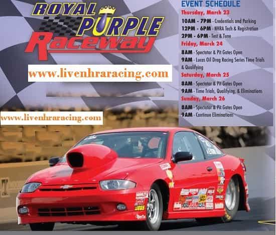 Royal Purple Raceway live