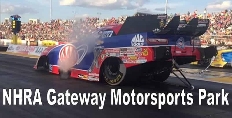 NHRA Gateway Motorsports Park Live
