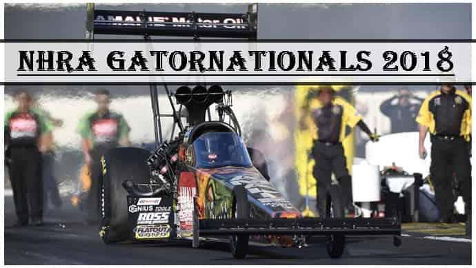 NHRA Gatornationals 2018 Live Stream